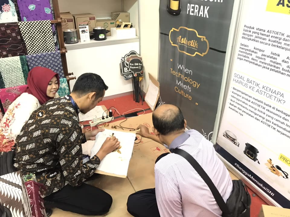 Pameran Astoetik dalam BSN – Indonesia Quality Expo (IQE) 2018