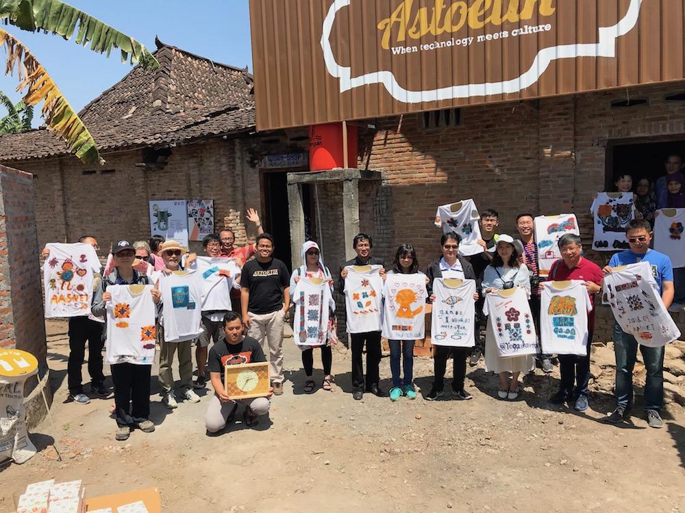 Social Excursion dan Workshop Batik di Astoetik dalam Rangkaian Program AASVET dan Pascasarjana UNY 2018