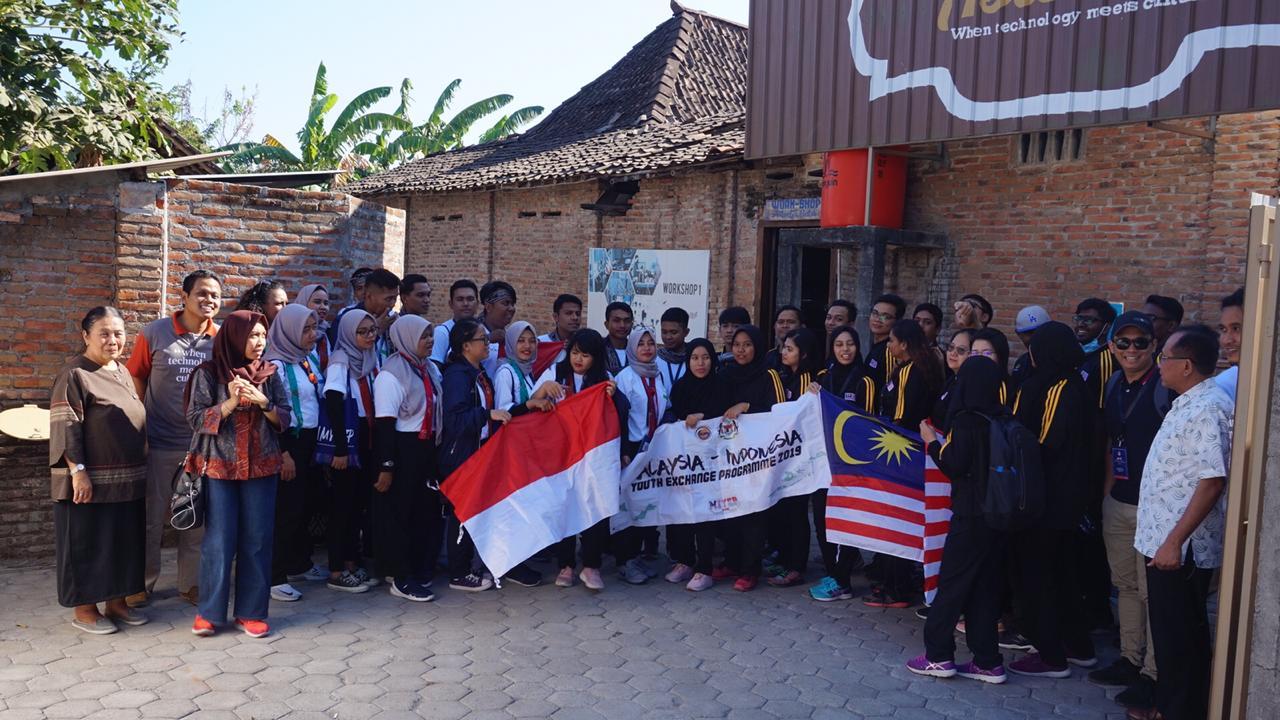 Program Kemenpora, Pelatihan Batik Internasional Pemuda Indonesia – Malaysia di Sanggar Astoetik