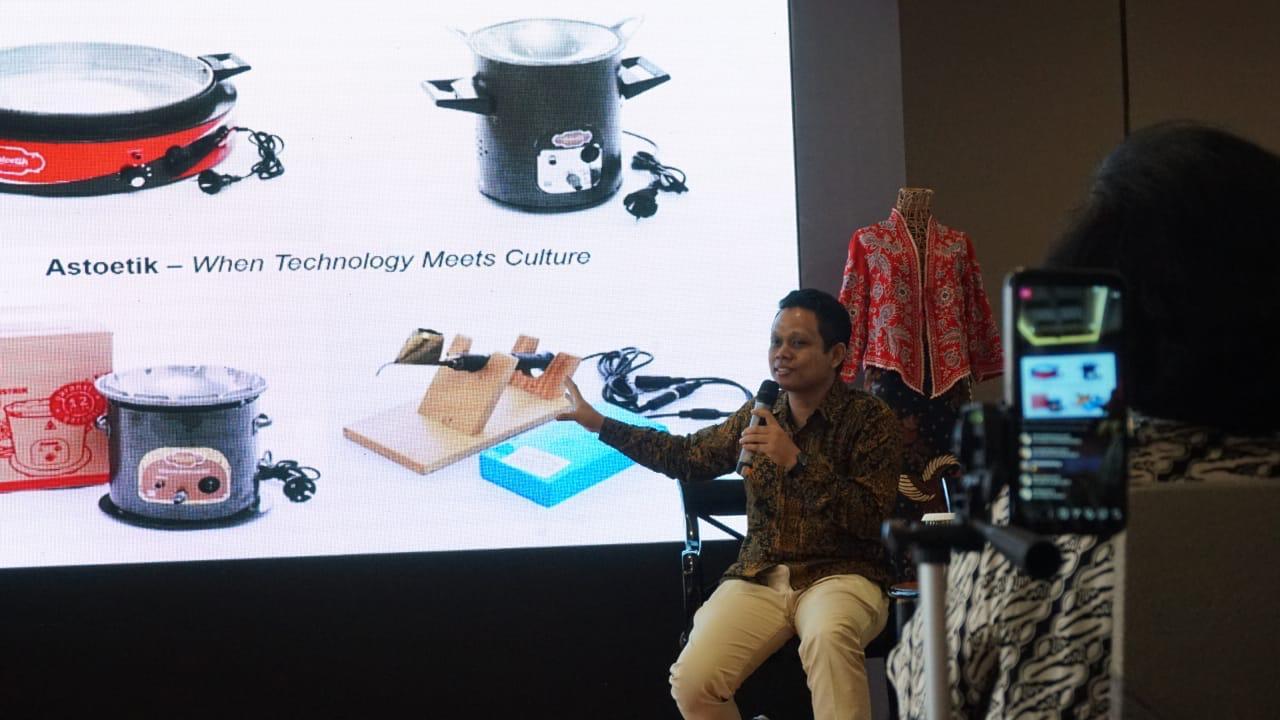 Amandari Gallery & PLN Perkenalkan Membatik Gunakan Canting dan Kompor Listrik Astoetik
