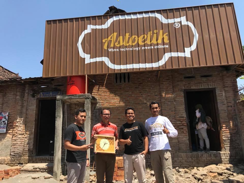 Pendirian Perusahaan CV. Astoetik Indonesia khusus Produksi Peralatan Batik dan Seni Budaya