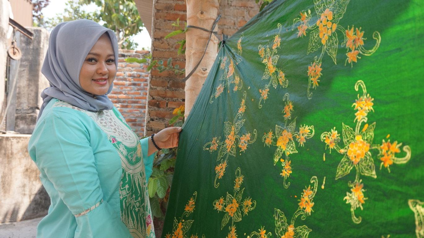 Pelatihan Batik Private 8 Hari di Astoetik dari Disperindag Lahat, Sumatera Selatan