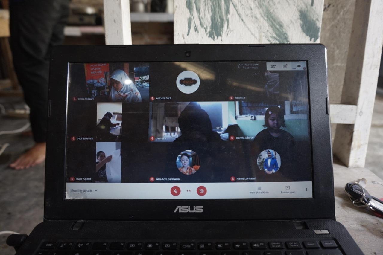 Pelatihan Batik dan Open House Virtual By ASTOETIK